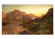 Ben Lomond by Alfred de Bréanski Landscape Premium Giclee Print