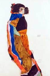 Moa by Egon Schiele Art Print