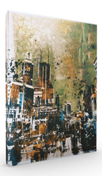 Wall Art, Abstract Cityscape V