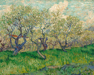 Vincent van Gogh Print Orchard in Blossom