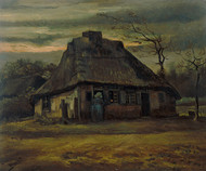 Vincent van Gogh Print The Cottage