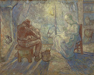 Vincent van Gogh Print Night After Millet