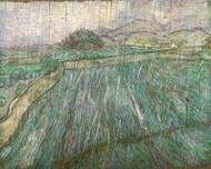 Vincent van Gogh Print Rain