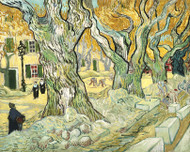 Vincent van Gogh Print The Road Menders