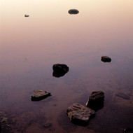 Seascape Print Narrabeen Rock Galaxy by Jeff Grant