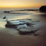 Seascape Print Rock  by Jeff Grant