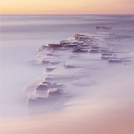 Seascape Print Turimetta Water Blur by Jeff Grant