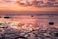 Seascape Print Morning Glow by Jeff Grant