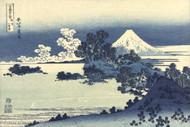 Japanese Print Beach Shichiri Ga Hama in Sagami Province by Katsushika Hokusai Art