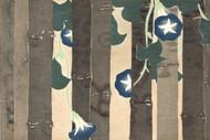 Blue Bindweed by Yamada Naosaburo 1909 Floral