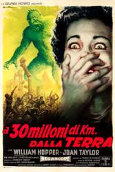 20 Million Miles To Earth 1960 Italian Movie Poster