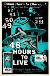 48 Hours To Live 1960 Movie Poster