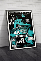 48 Hours To Live 1960 Movie Poster Framed