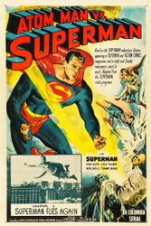 Atom Man vs Superman 1950 Movie Poster