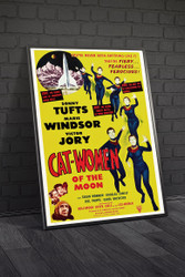 Cat Women of The Moon 1954 Movie Poster Framed