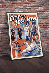 City of Lost Men 1940 Movie Poster Framed