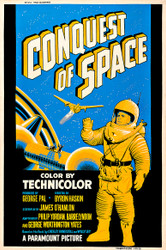 Conquest of Space 1955 Movie Poster