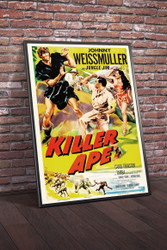 Killer Ape 1953 Movie Poster Framed
