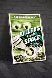 Killers From Space 1954 Movie Poster Framed
