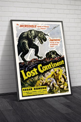 Lost Continent 1951  Movie Poster Framed