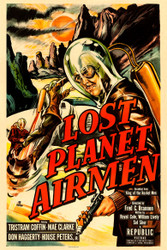 Lost Planet Airmen 1951 Movie Poster