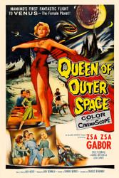 Queen of Outer Space Movie Poster