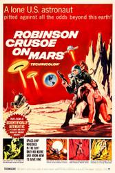 Robinson Crusoe on Mars 1964 II Movie Poster