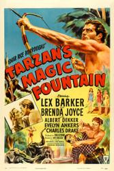 Tarzans Magic Fountain 1949 Movie Poster
