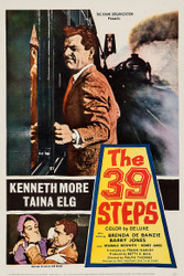 The 39 Steps 1960 Movie Poster