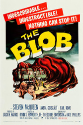 The Blob 1958 Movie Poster