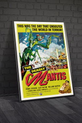 The Deadly Mantis 1957 III Movie Poster Framed