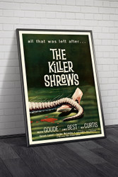 The Killer Shrews 1959 Movie Poster Framed