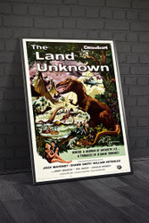 The Land Unknown 1957 II Movie Poster Framed