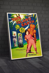 This Island Earth 1955 II Movie Poster Framed