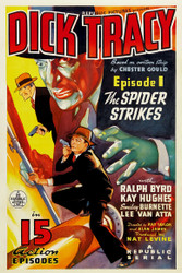 Dick Tracy 1937 Movie Poster