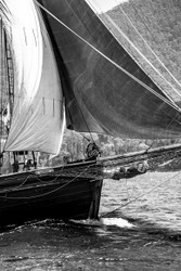 Asleep in The Bowsprit by Andrew Wilson Seascape Print