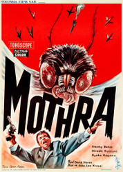 Mothra 1962 Belgian Movie Poster