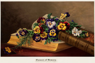 Flowers Of Memory By Elizabeth H Remington Floral Print