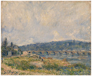 Alfred Sisley Print - Sevres Bridge