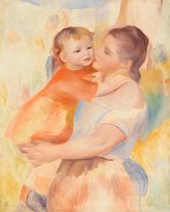 Pierre Auguste Renoir- Washerwoman and Child