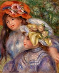 Pierre Auguste Renoir- Two Girls