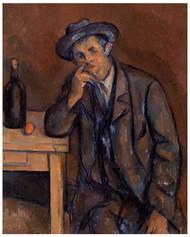 Paul Cezanne  - The Drinker