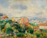 Pierre Auguste Renoir - View from Montmartre