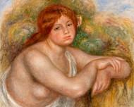 Pierre Auguste Renoir - Nude Study Bust of a women