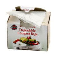Bio-Degradable Compost Bags, 50 Pieces NDCB501026