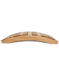 4-Ft Garden Bridge in Western Red Cedar - Holds up to 800 lbs ATC5418135