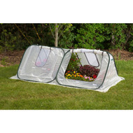 Flower Starter-House Low-Tunnel Cold-Frame Style Greenhouse FSHG78761