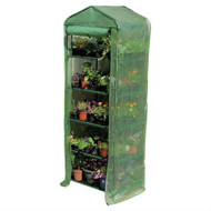 5-Tier Sturdy Growing Rack Planter Stand Greenhouse with Reinforced Cover JAGREEN88313
