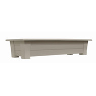 1.25 Cubic Foot Rectangular Garden Planter in Desert Clay Resin - Made in USA RDP595481