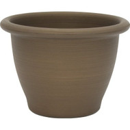 16-inch Snap-Fit Poly Planter in Antique Bronze Finish 16ISFPPAB1507